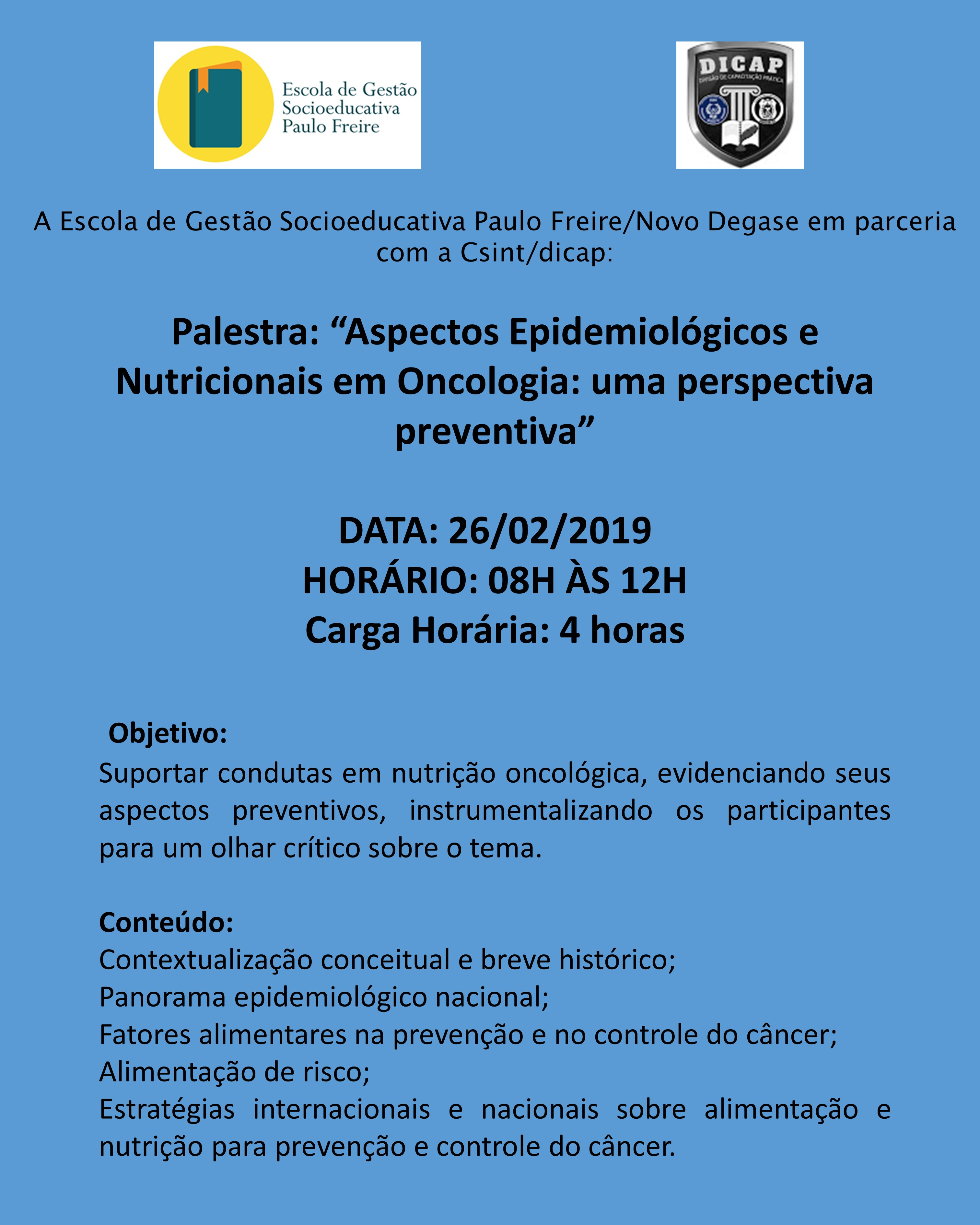 Palestra ONCOLOGIA